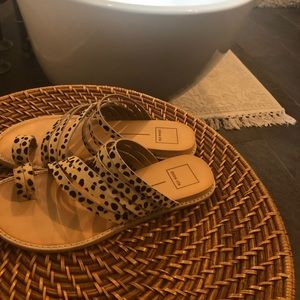 Dolce Vita Shoes - Dolce vita sandals worn twice calf hair leopard